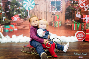 siblings child brother sister cute christmas portrait lowestoft suffolk