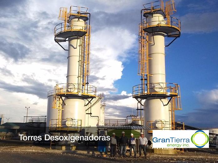 TORRES DESOXIGENADORAS EDOSPINA