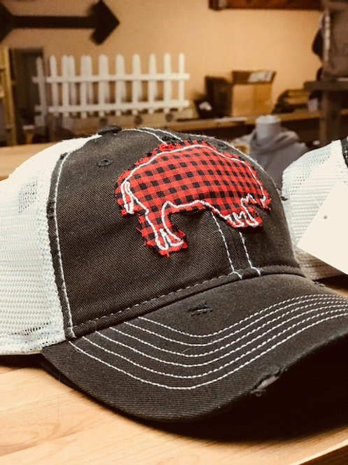 Buffalo Plaid Cap