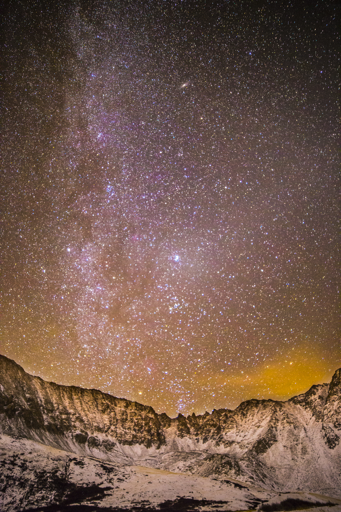 Mayflower gulch Milky Way