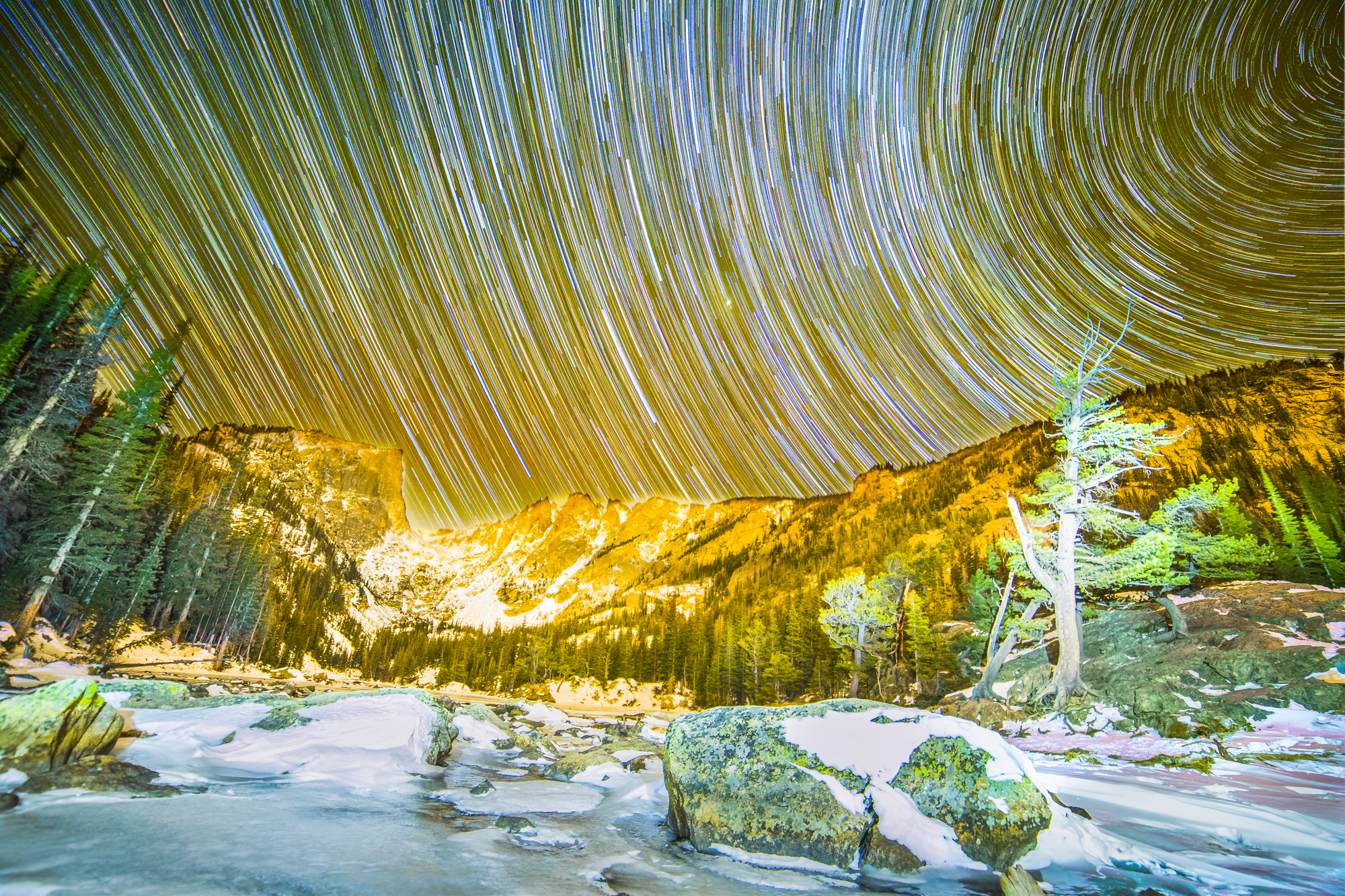 Dream Lake Startrails