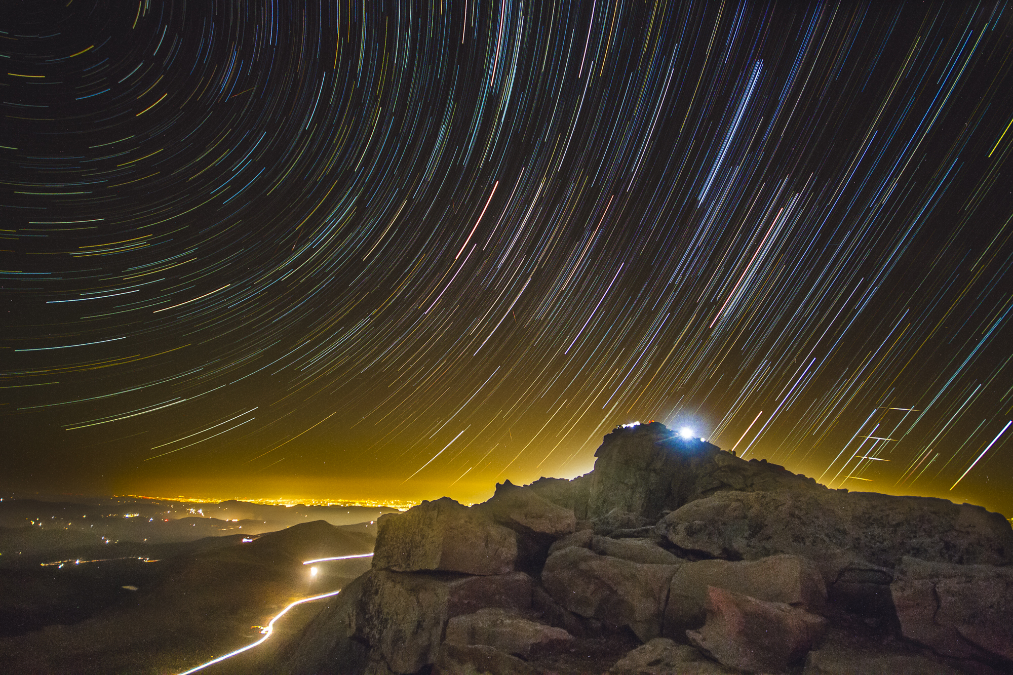 Mt. Evans meteor shower 2