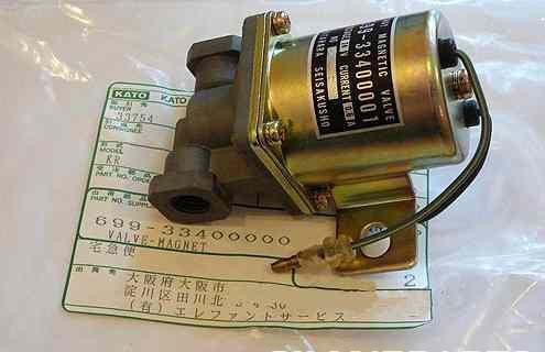 699-33400000. Клапан электромагнитный KATO KR300S