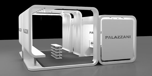 Bullo Design - EXHIBITION STAND EXPOBAGNO - Palazzani Project - 2008