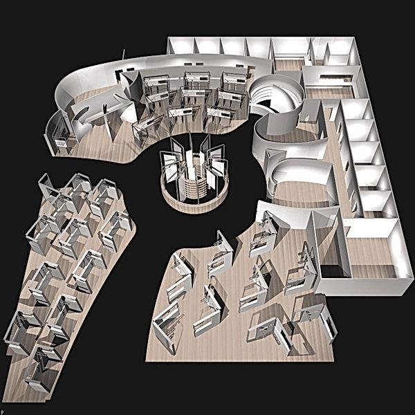 Bullo Design - STAND Mostra Convegno Milano - Ceramica Dolomite e Ideal Standard- 2002