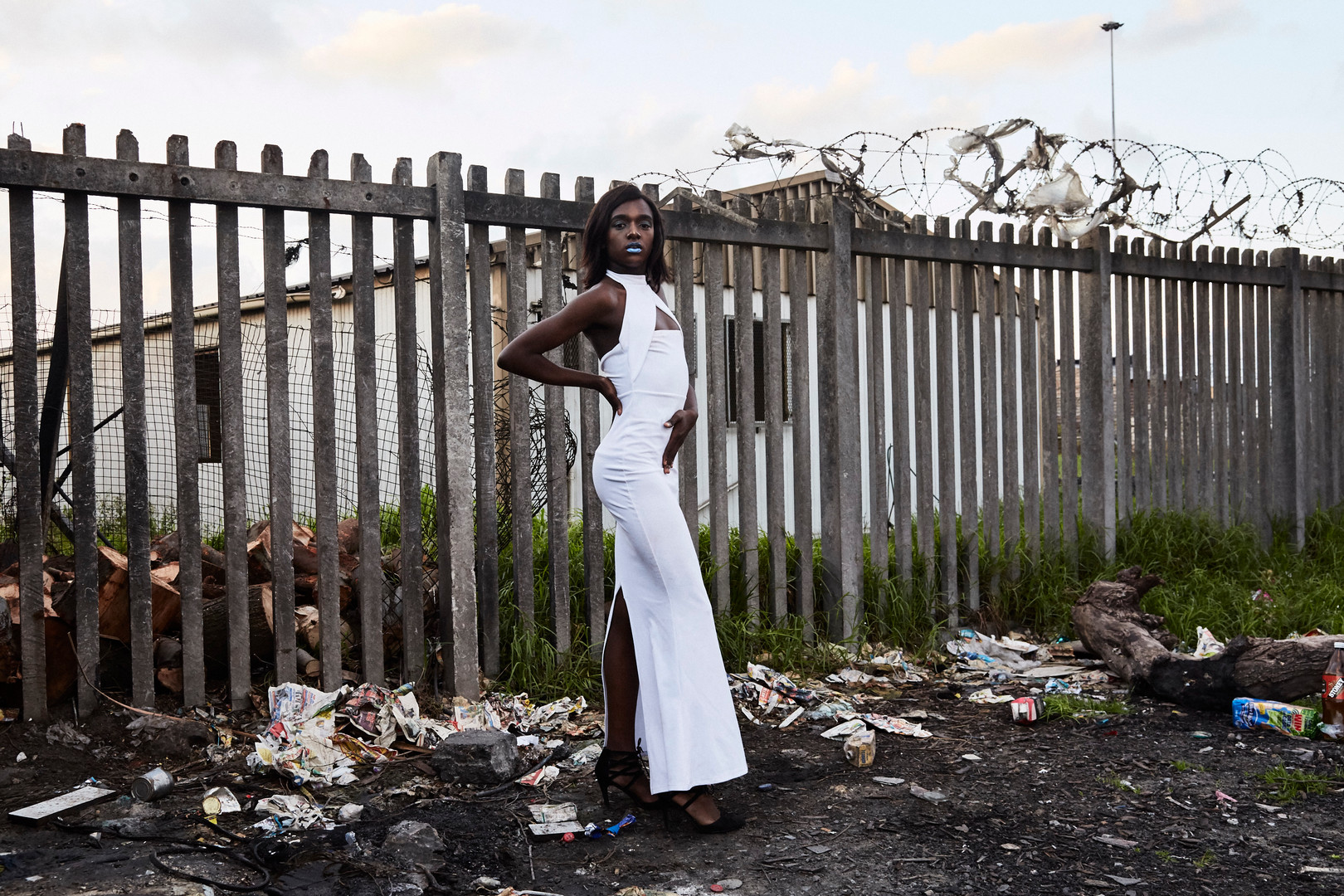 "Liyana Arianna Madikizela, who graduated from high school in 2019, is a drag artist from Kayamandi, a township outside the university town of Stellenbosch. Madikizela wanted her portrait to challenge traditional gender roles. ""I have decided to be myself. I am a gender non-conforming body and I want to be a role model to the future generations of queers to come. I want to become the role model I never saw in the streets of Kayamandi. Living in a township has taught me to be strong and strive. I have dealt with the stigma and hate, and now am stronger. "" Aug. 4, 2019."