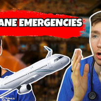 What Happens In A Medical Emergency On A Plane  Doctors, Emergency Landing, Patient Care #