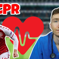 The Medical Events Of Christian Eriksen + CPR  Cardiac Arrest, Chest Compressions, Athlete