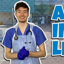 Day In The Life Of A FINAL YEAR Medical Student  Morning Routine, Placement and Food Choic