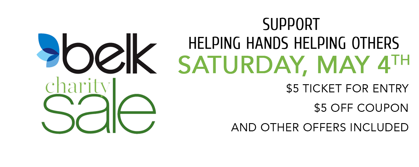 Belk Charity Day Sale Banner