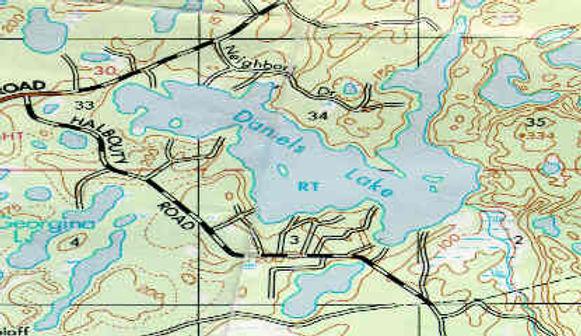 Daniels lake Lodge's Map - Daniels Lake Lodge/Kenai, AK/vacation rentals