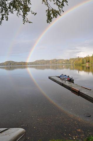 Rainbows in Daniels Lake - Daniels Lake Lodge/Kenai, AK/vacation rentals