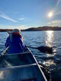 Canoe trip Fall 2020