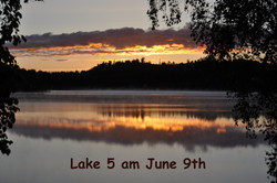 Lake 5 am June 9th