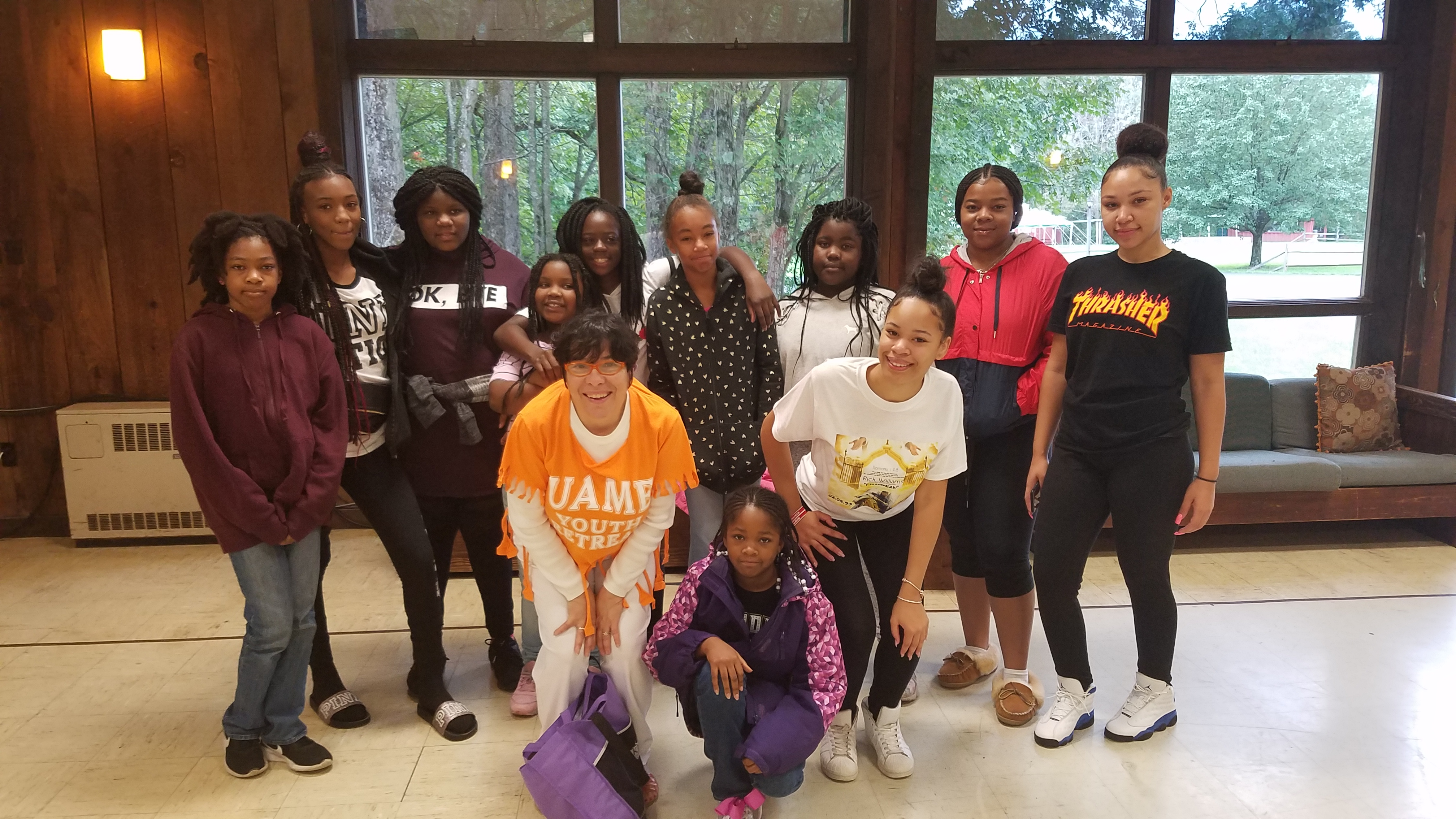 2018 UAME Youth Retreat at Stream Side,