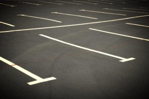 2 parking spaces