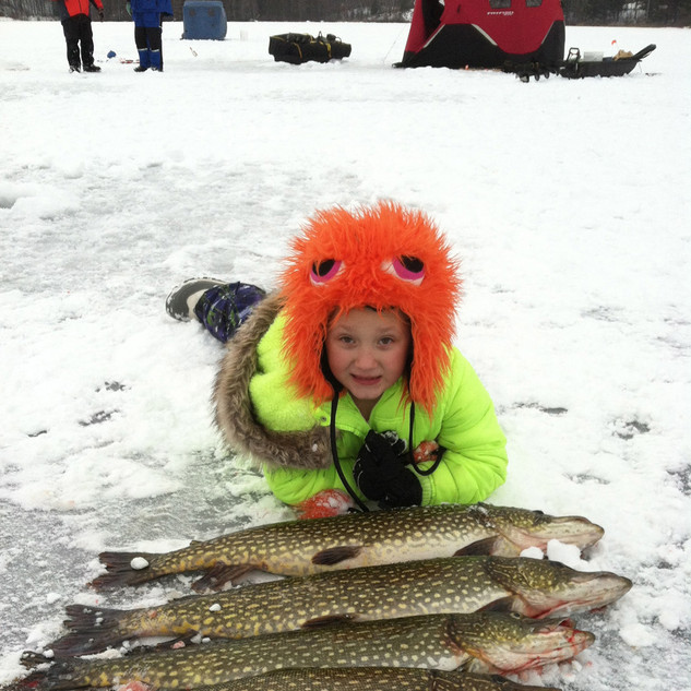 Ice Fishing at Wittig's