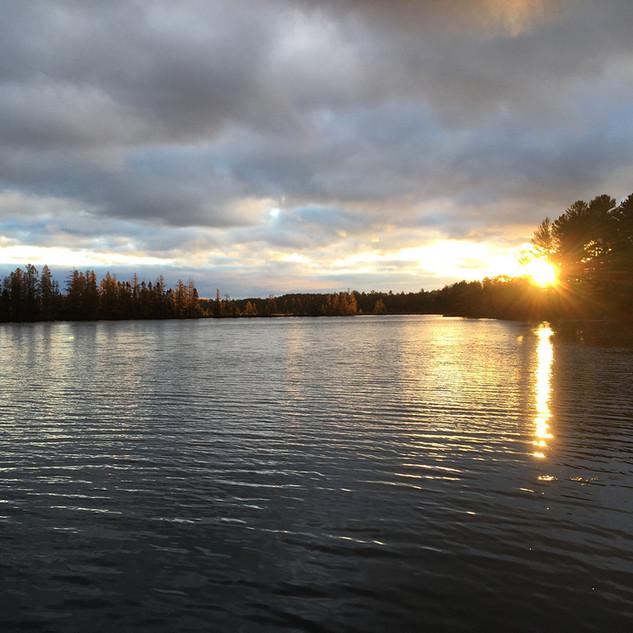 Wittig's Sunrise on Our River