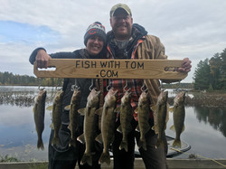 Joint Limit of Walleyes