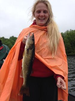 Wet Walleye!