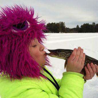 Ice Fishing at Wittig's