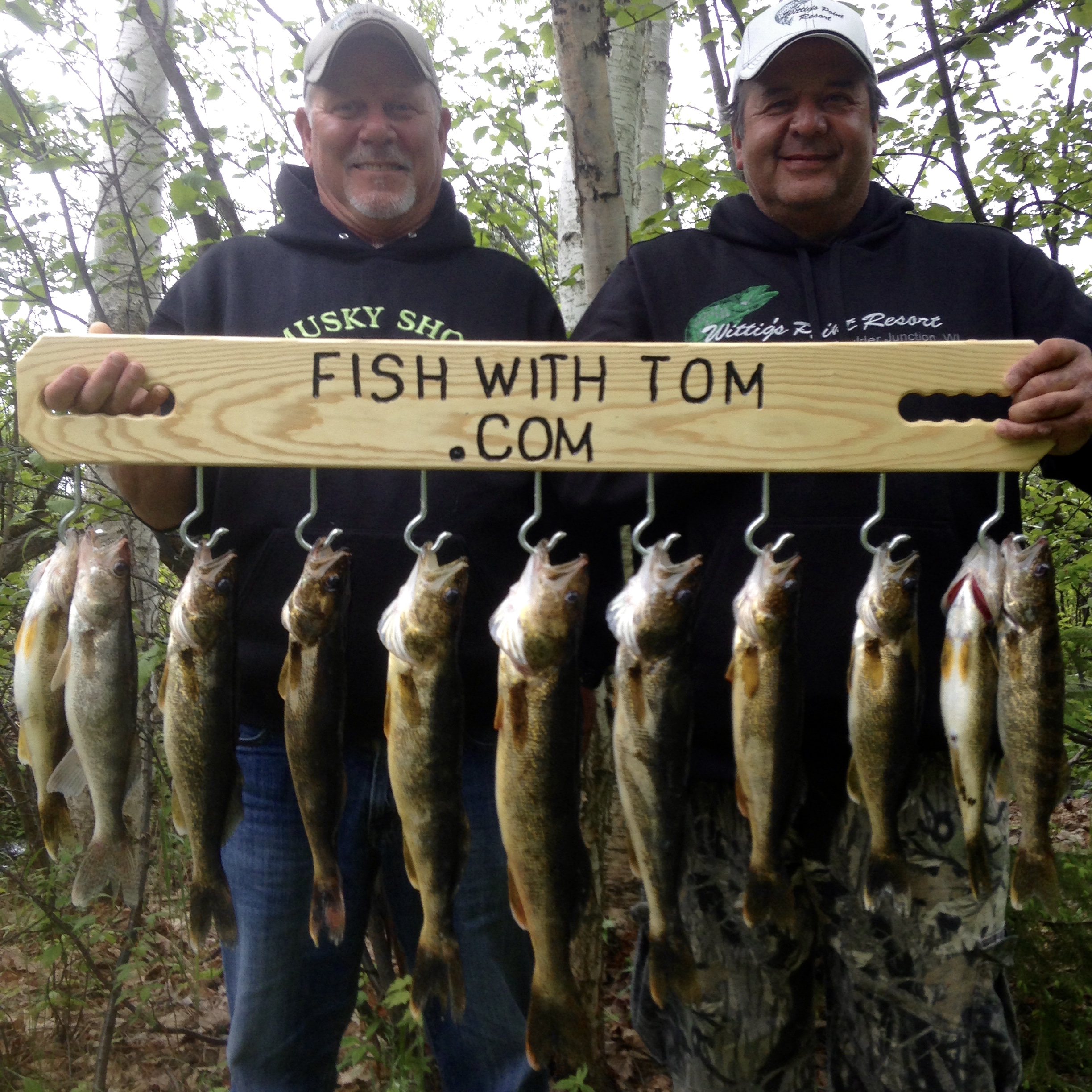 Spring Walleye Fishing