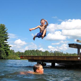 Wittig's Swim Area Dock Jump