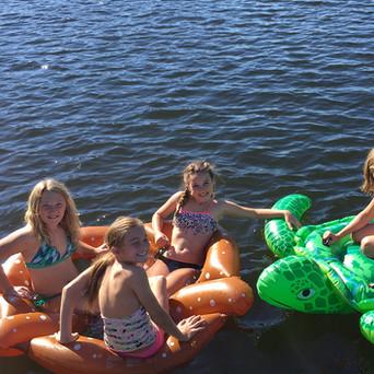 Wittig's Swim Area Floating