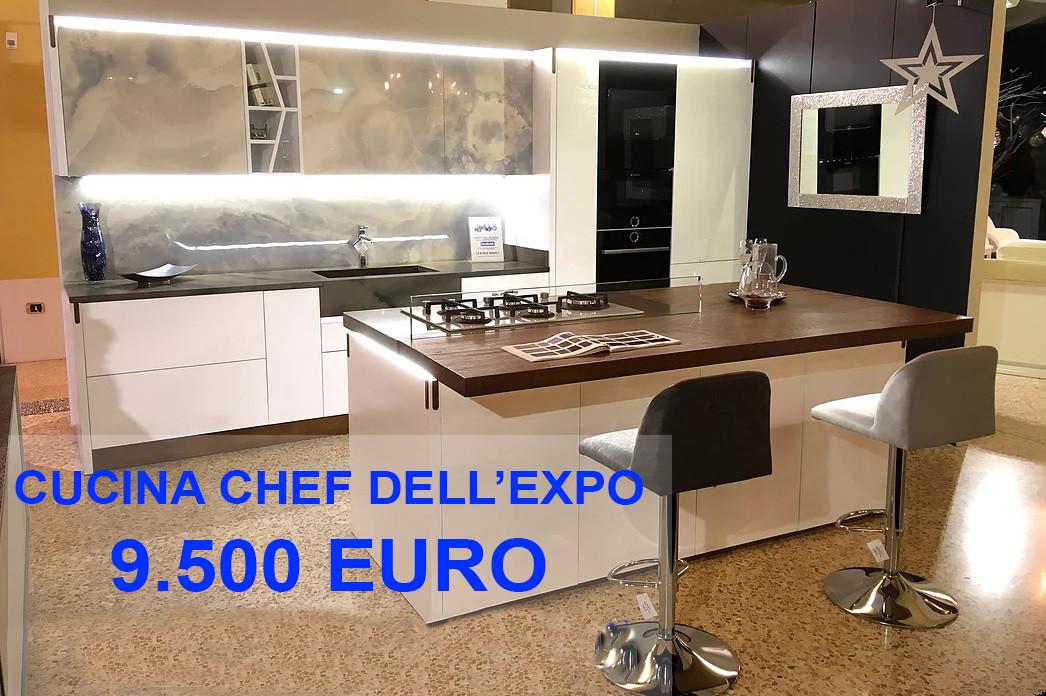 Cucina Chef dell'expo