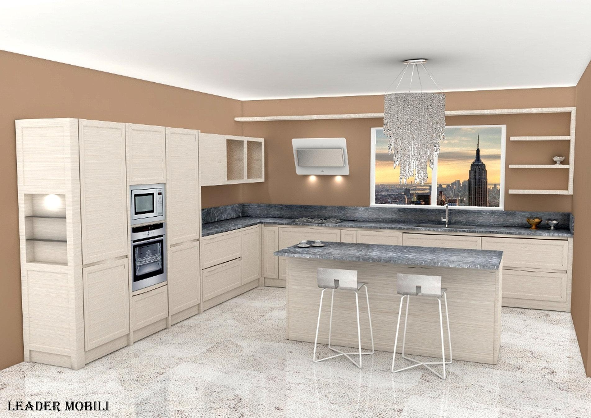 Cucina in legno Eva