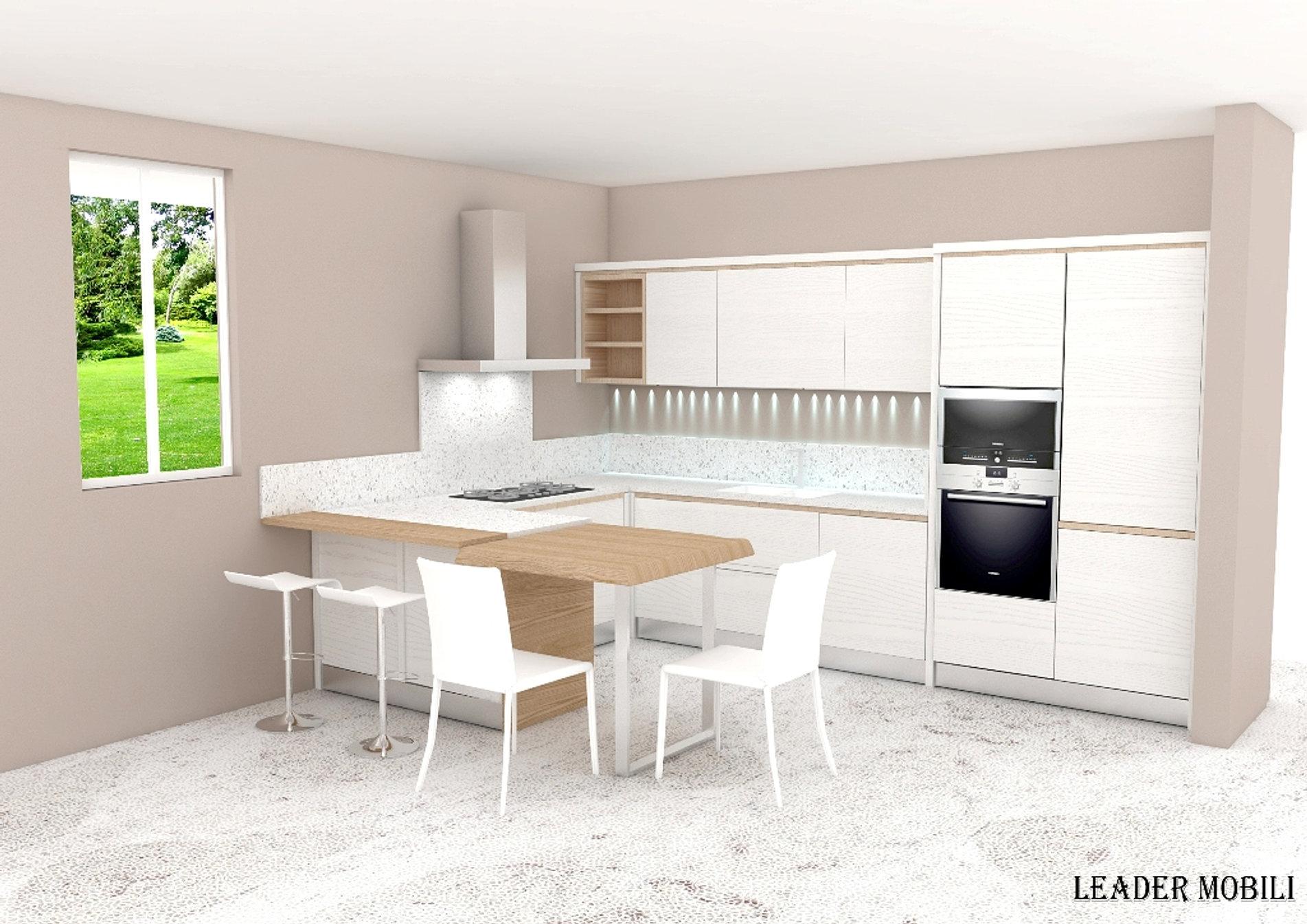 Cucina in legno Premium