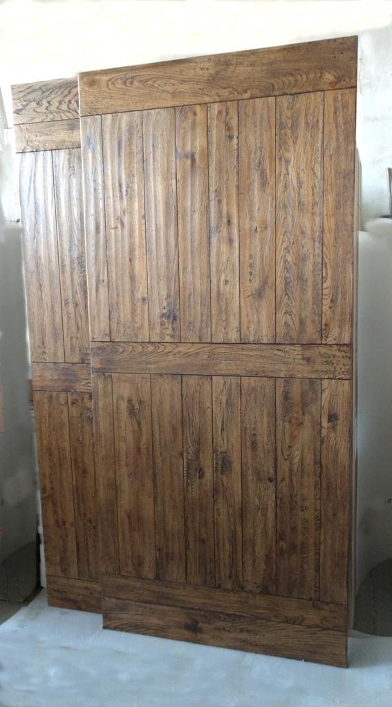 Porte interne in rovere rustico