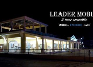 Segui la pagina ufficiale Facebook di Leader!