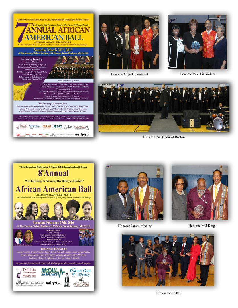 7th & 8th Annual African American Balls