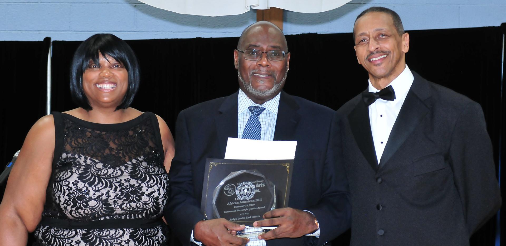 Honoree Retired Judge Leslie Earl Harris