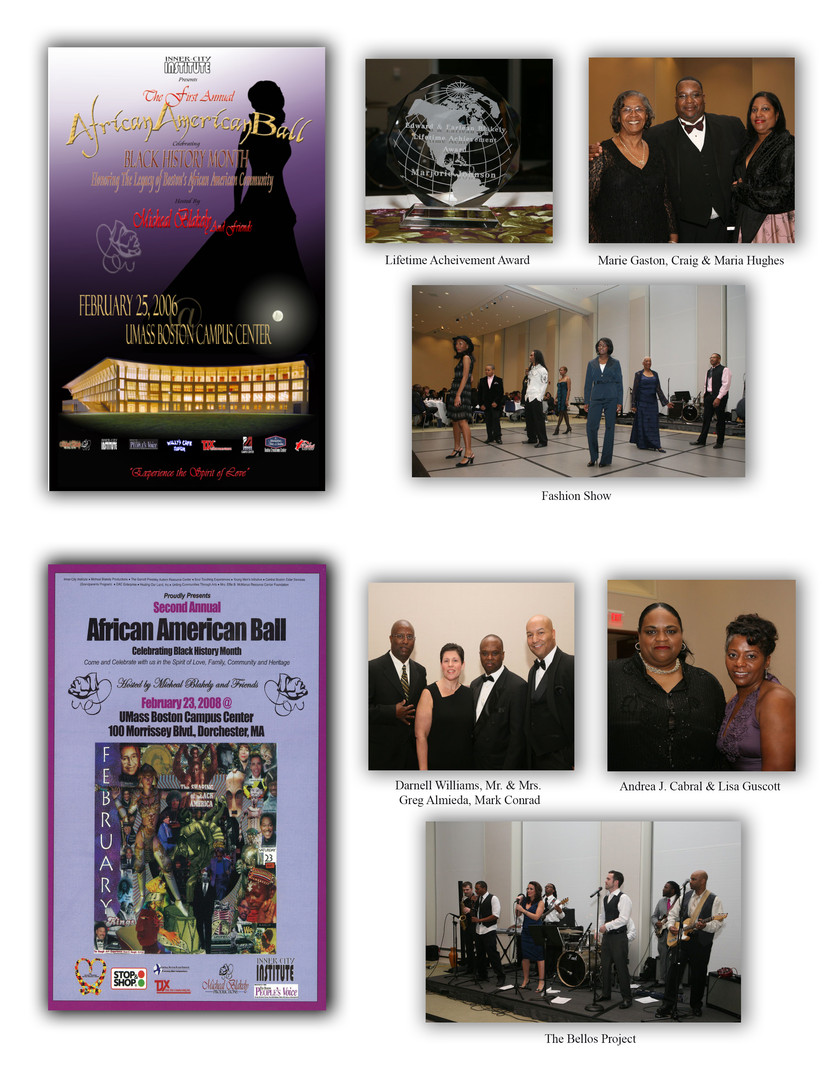 1st & 2nd Annual African American Balls