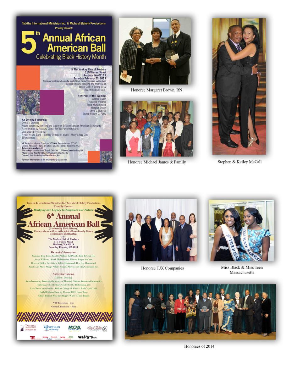 5th & 6th Annual African American Balls