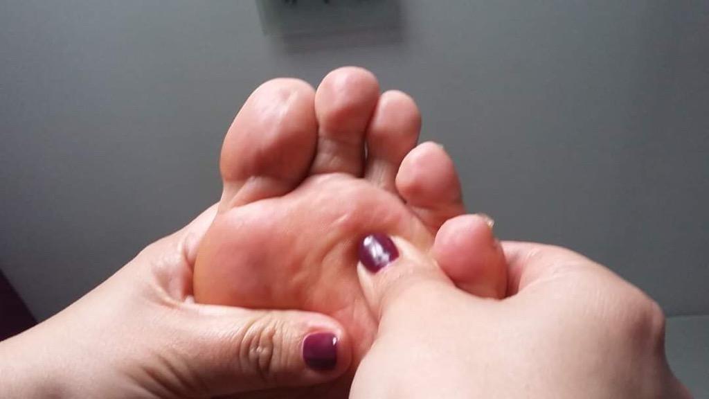 massage pieds au bout du chemin moments