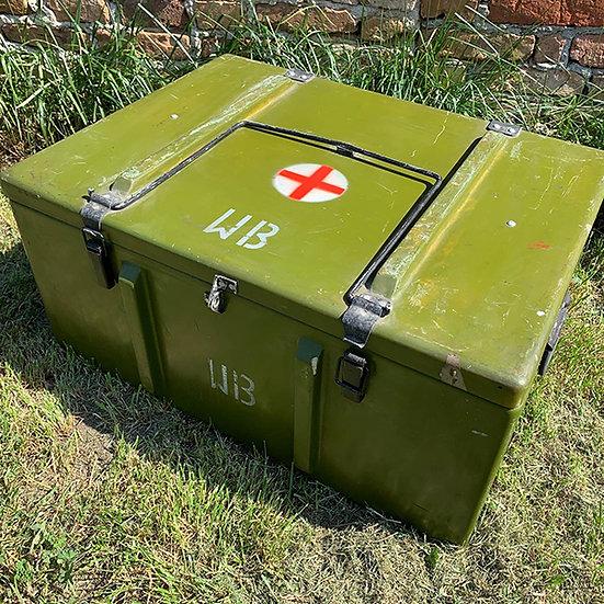 Militärkiste olivgrün |  77x57x38cm