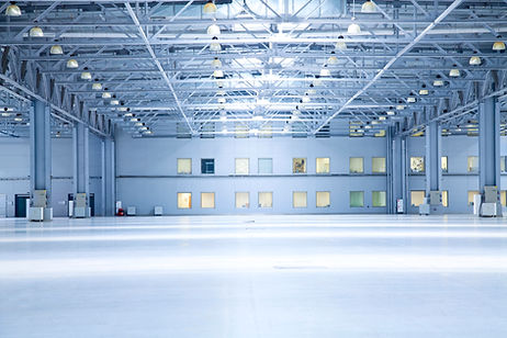 Led highbay verlichting bedrijfshal