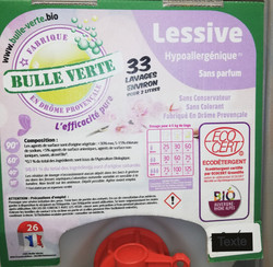 Lessive Hypoallergénique