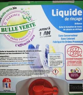 liquide rinçage lave vaisselle