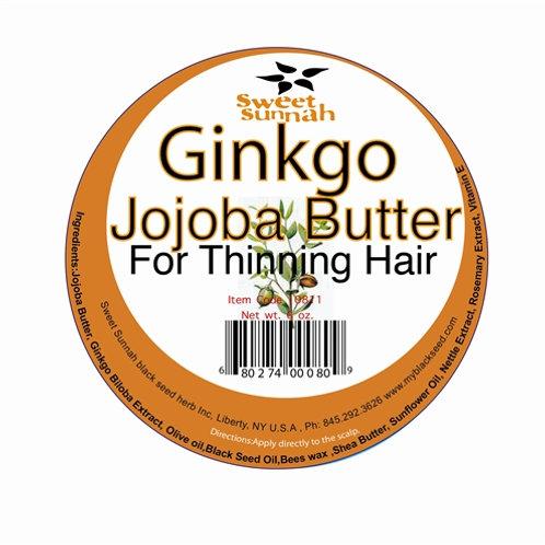 Ginkgo Jojoba Hair Butter For Thinning Hair 6oz
