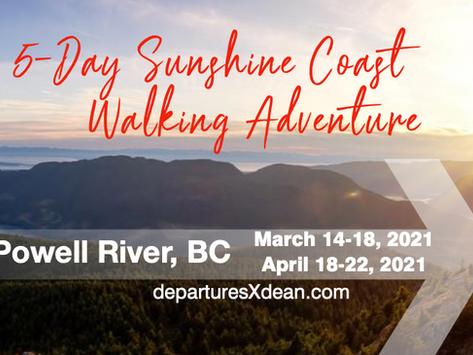 5-Day Sunshine Coast Walking Adventure