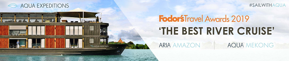 Aqua Mekong Best River Cruise by Fodor's Travel Awards 2019
