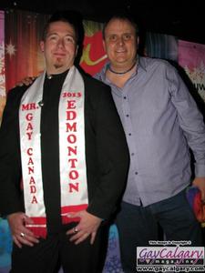 Mr Gay Canada - Edmonton winner LJ Steele 2013