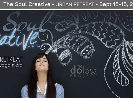Do Less - Urban Retreat Sept. 15-16, 2018