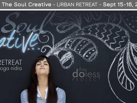 Do Less - Urban Retreat Sept. 15-16, 2018