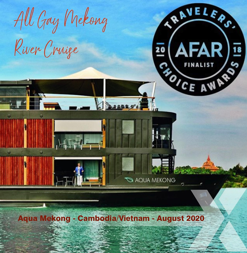 All Gay Cruise Mekong River August 2020 book now