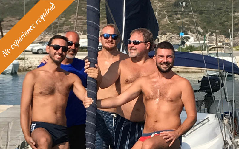 Gay Sailing trip in Greece August 2018